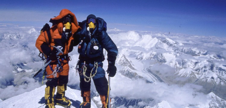 Apa Sherpa and Phurba Tashi Sherpa