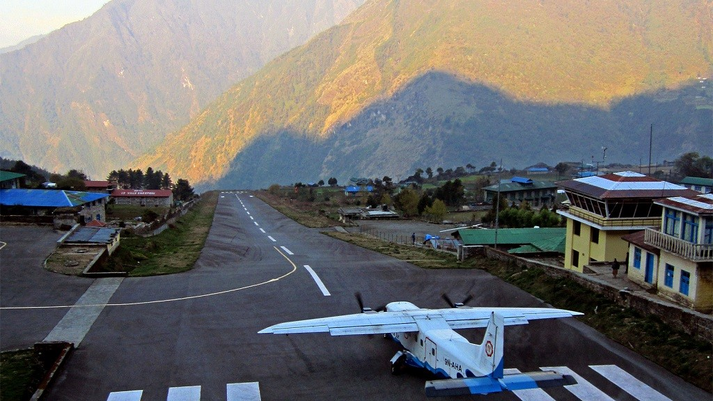 Tenzing Hillary Airport of Everest Base Camp
