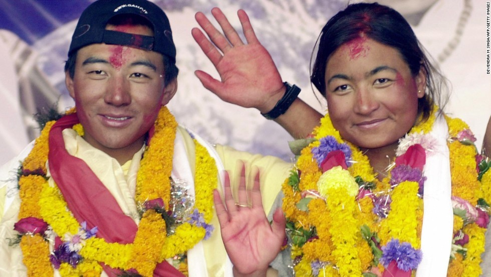 Wedding on Mount Everest