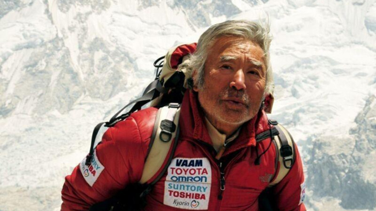 Yuichiro Miura is the eldest person to climb Mount Everest