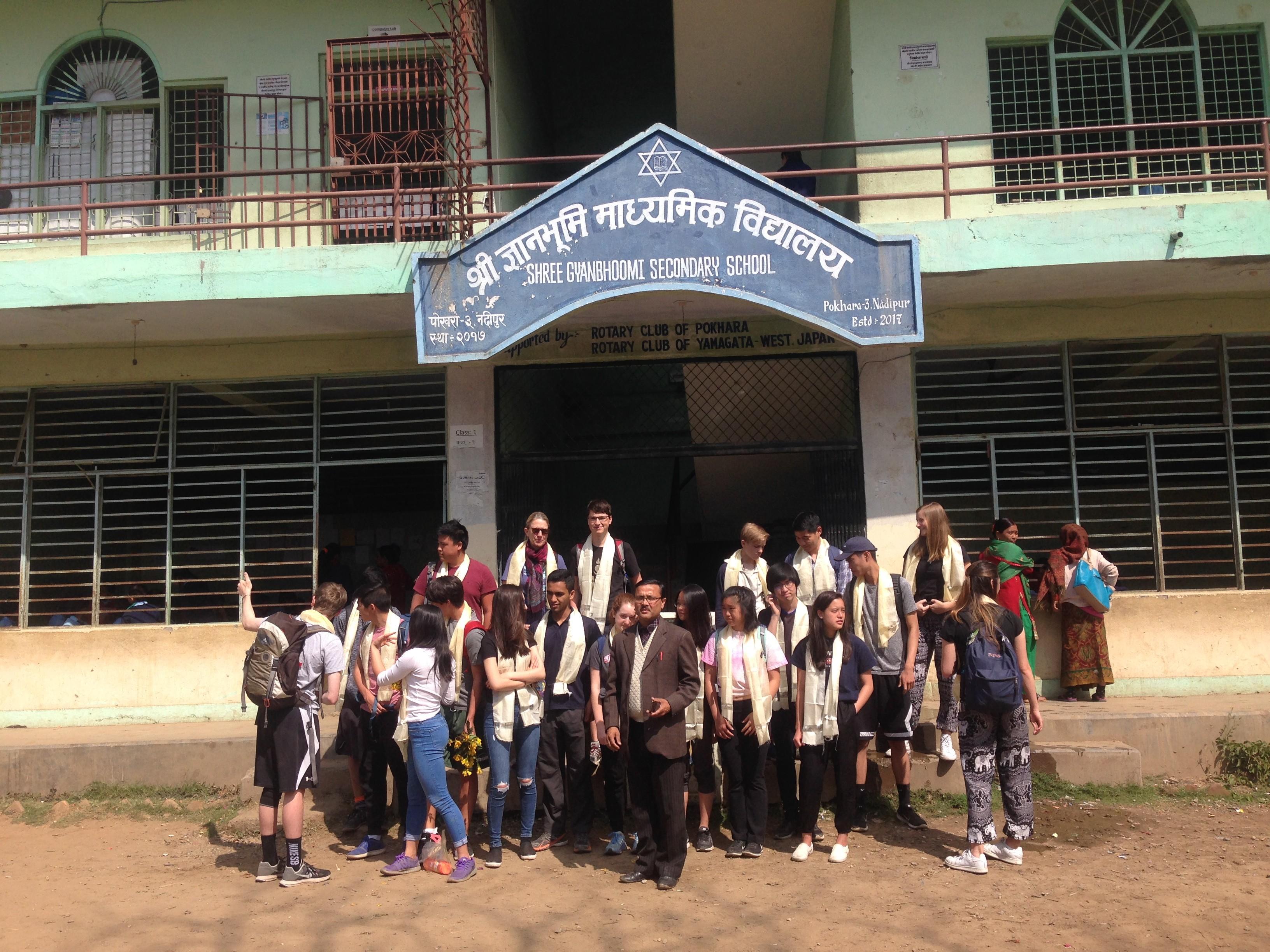 CAS ideas in Nepal: School Visit