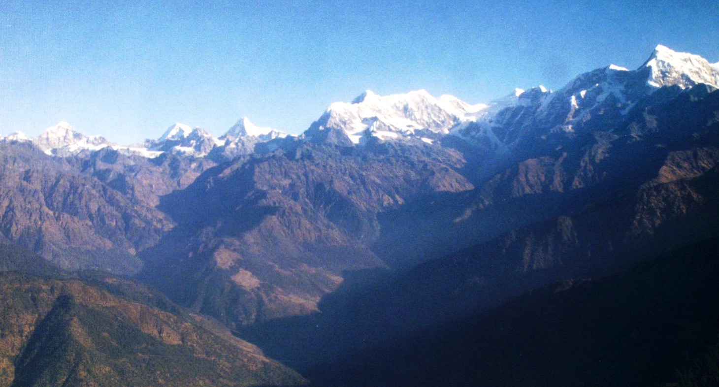 Kathmandu to Lukla: View during the Flight