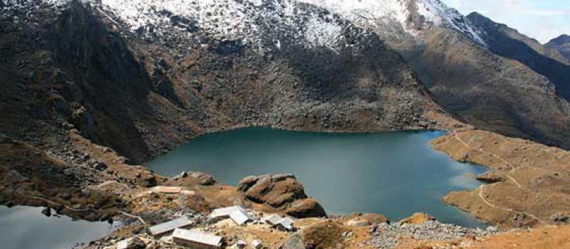 Religious value of Gosaukunda Lake