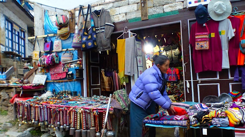 Traditional Handicrafts Shops in Namche Bazaar