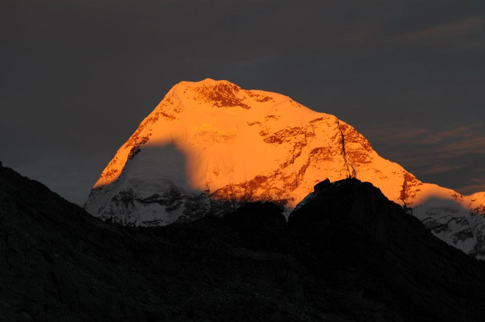Mera Peak: Sunset