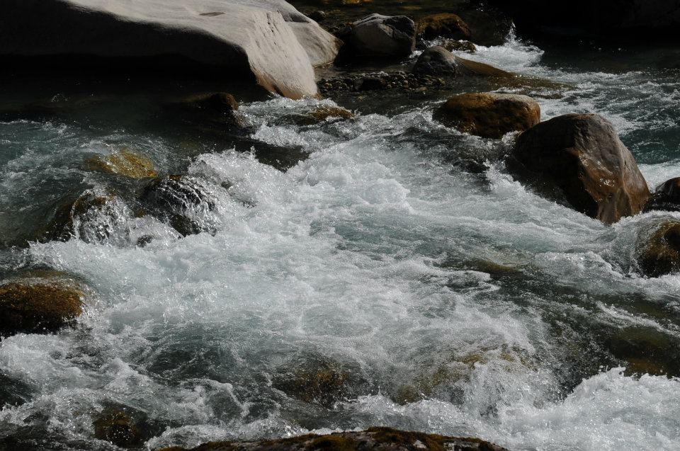 Mera Peak river