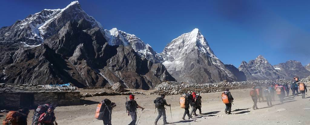 Trekking in Nepal can be one of the best activities for CAS
