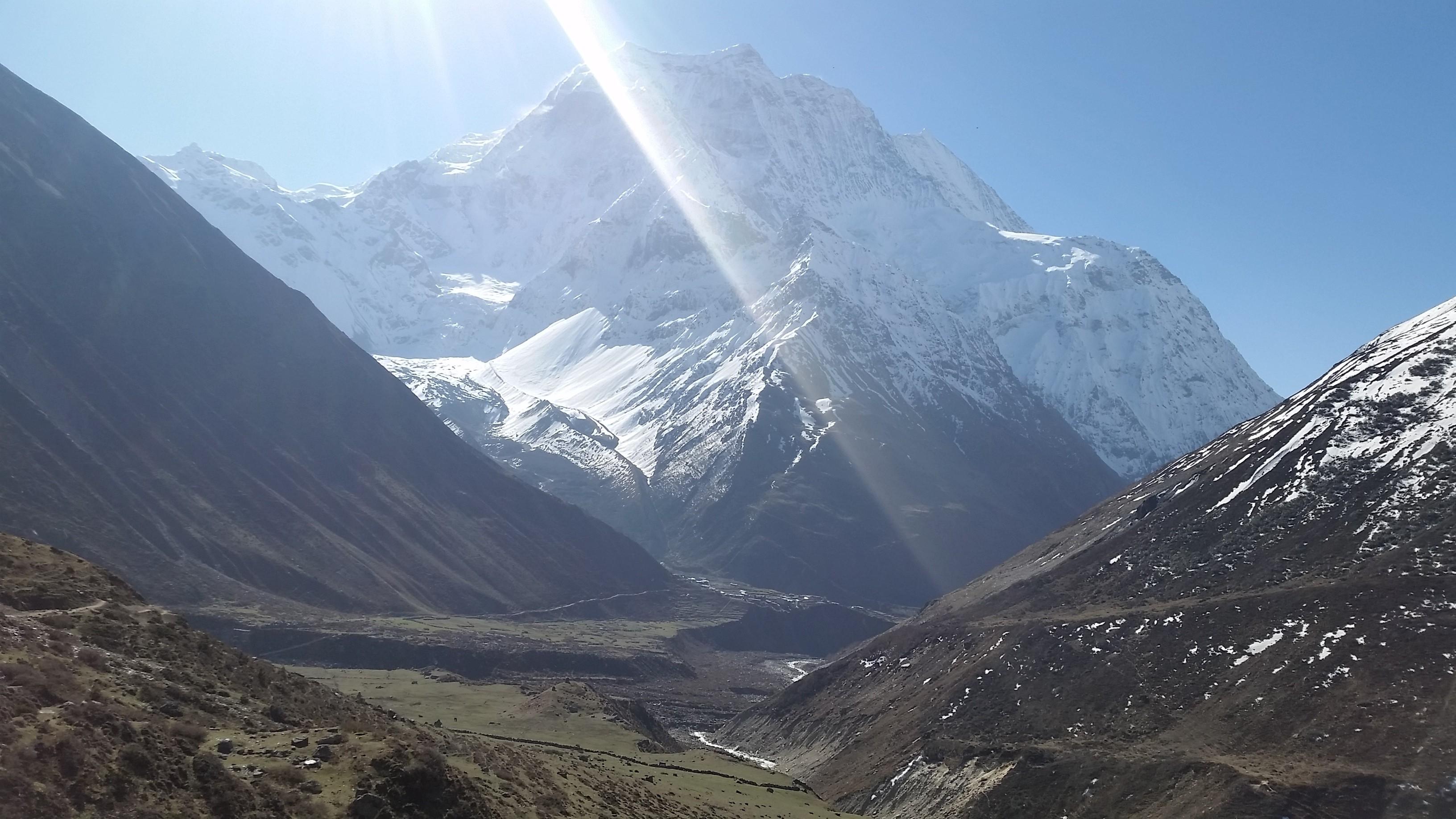 Himalayas manaslu trek