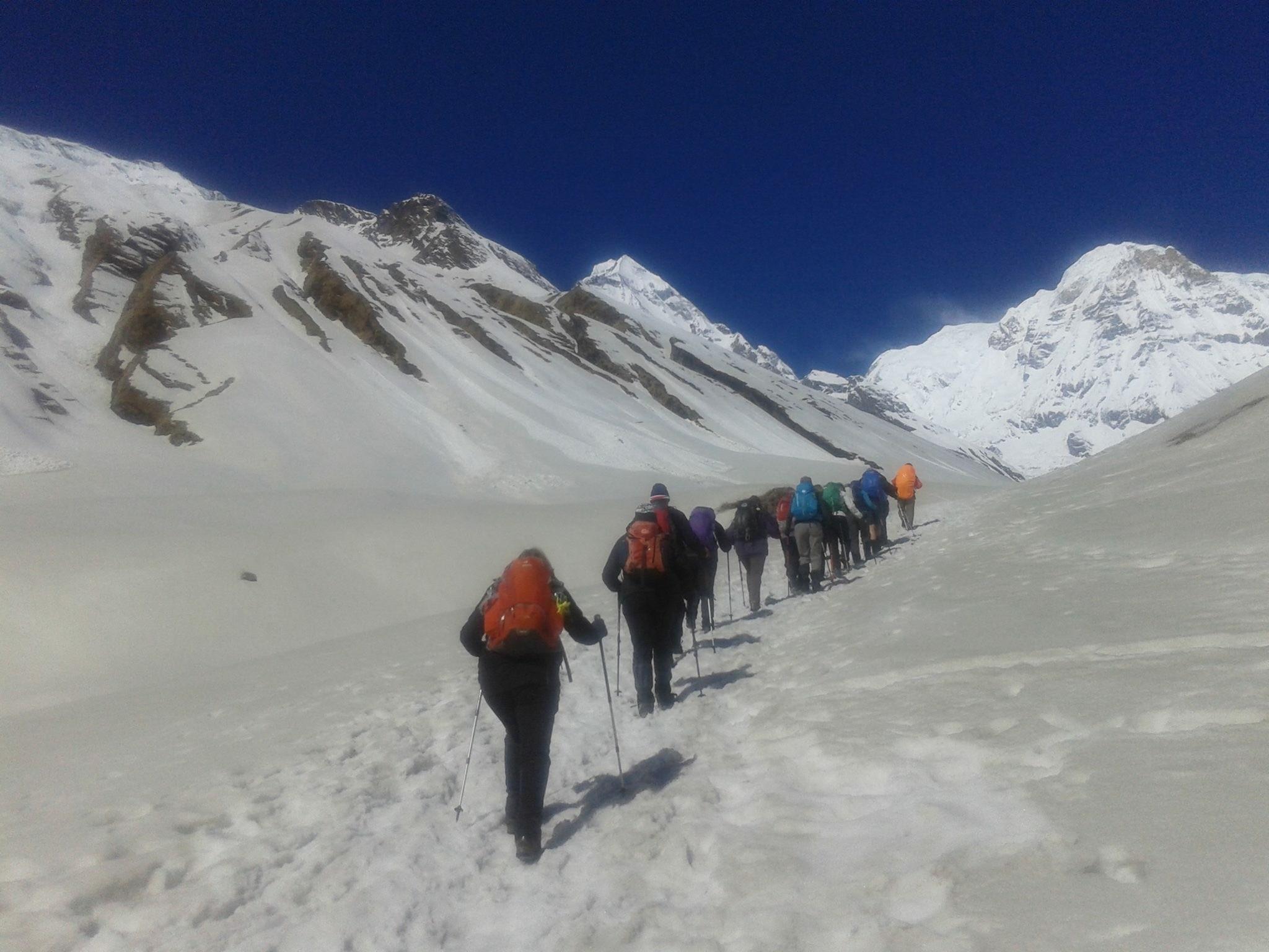 Trekking in Annapurna Base Camp