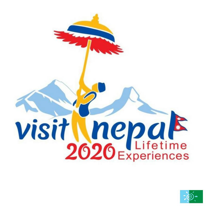 Visit Nepal Year 2020 Logo