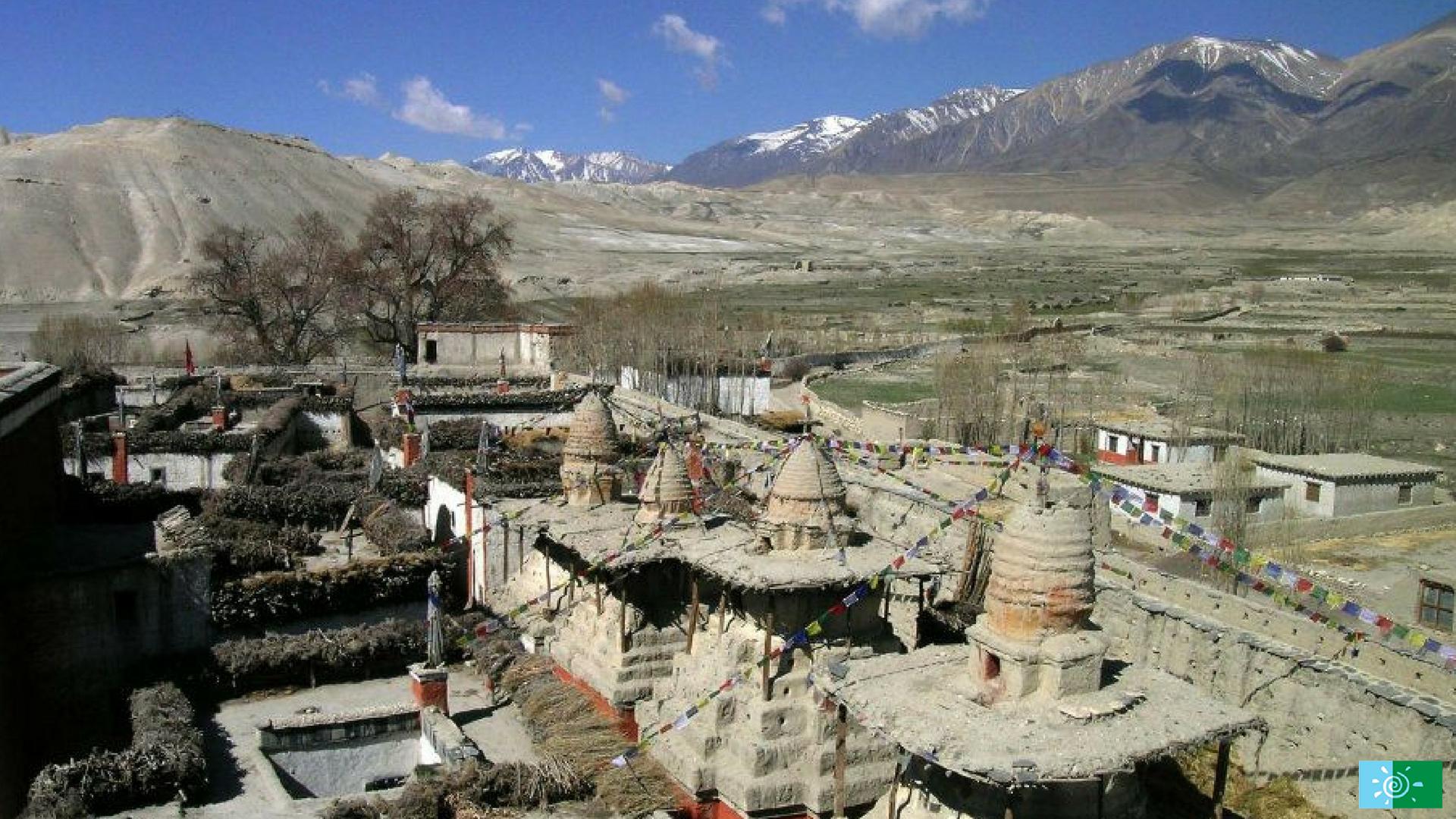 Temples in Upper Mustang Trek