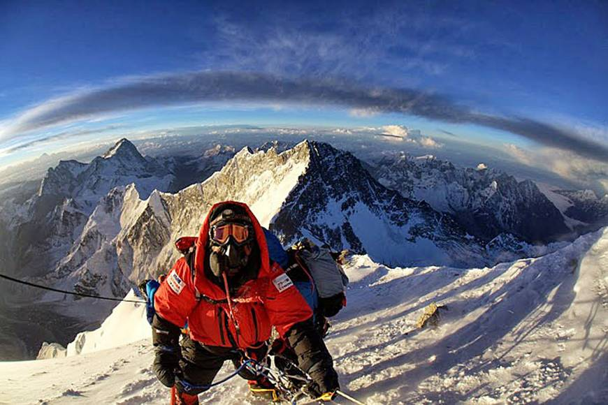 Mount Everest Climber