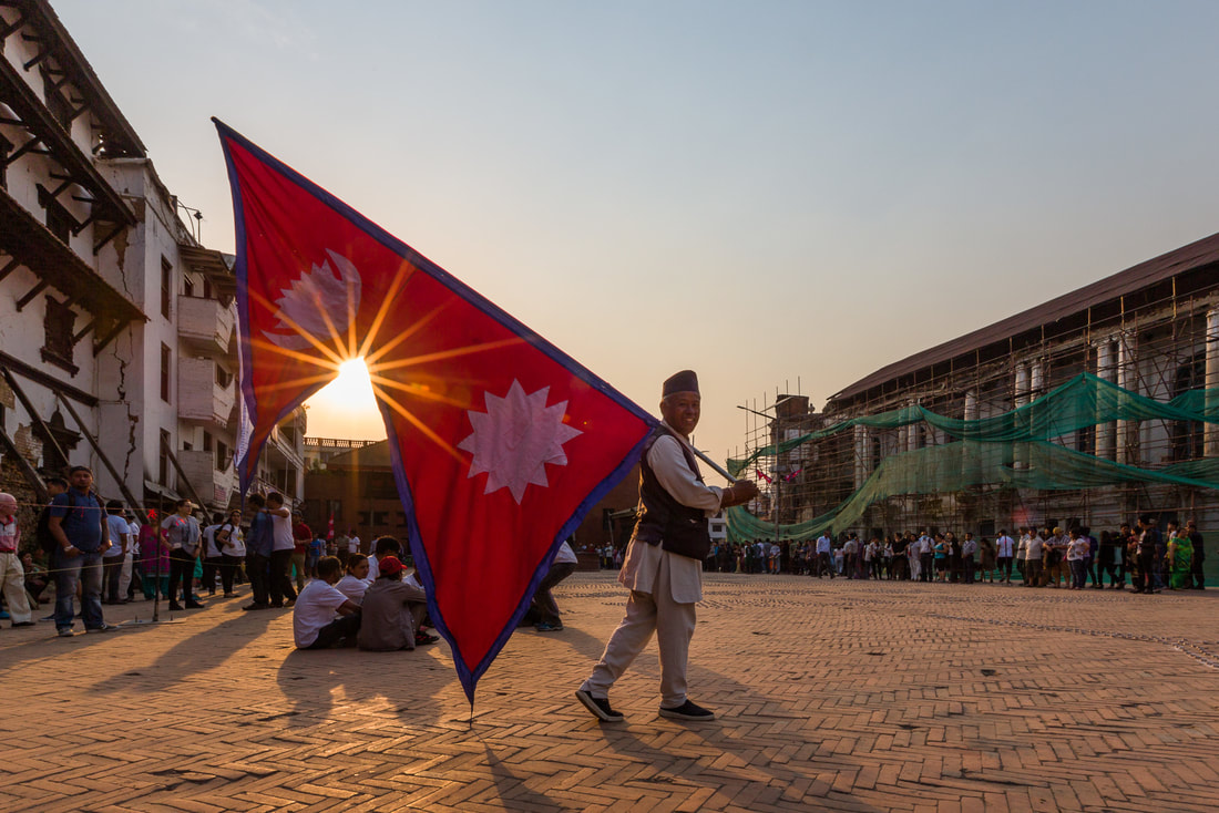 Nepal flag is unique all over the world