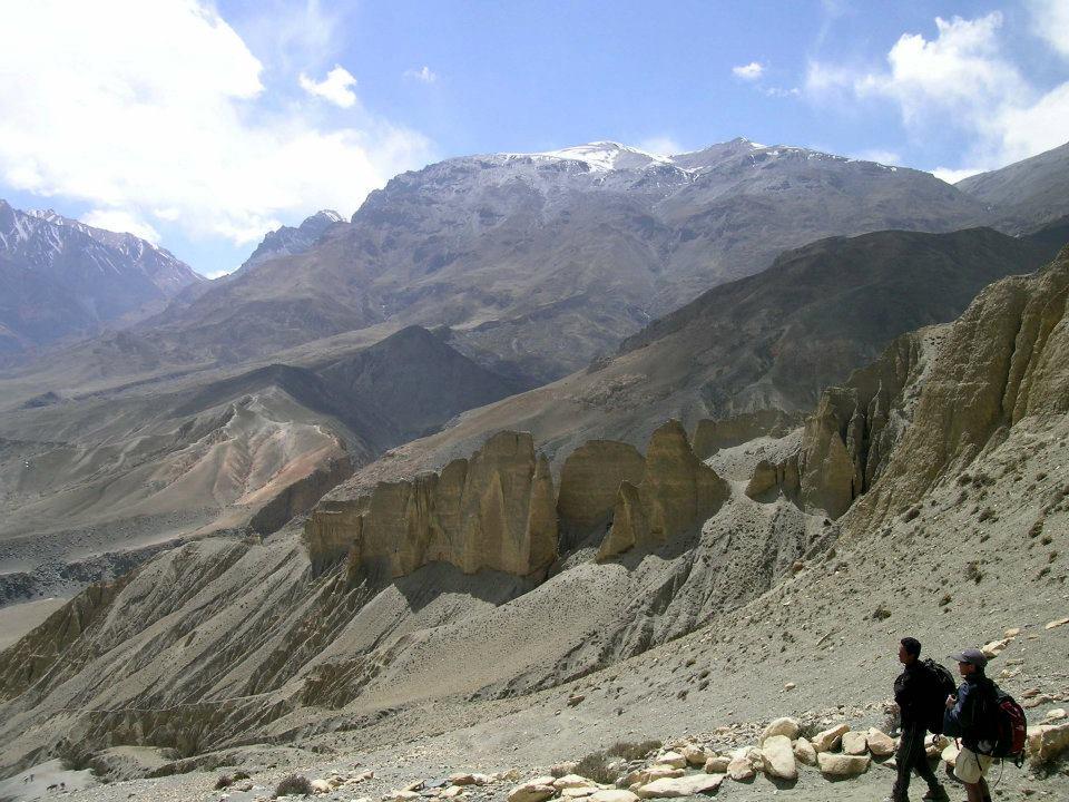 trekking in Jomsom Nepal