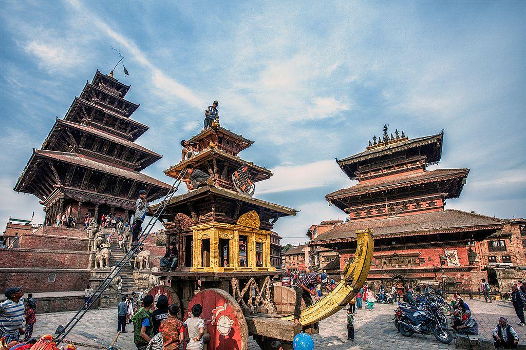 Bisket Jatra in Kathmandu Nepal