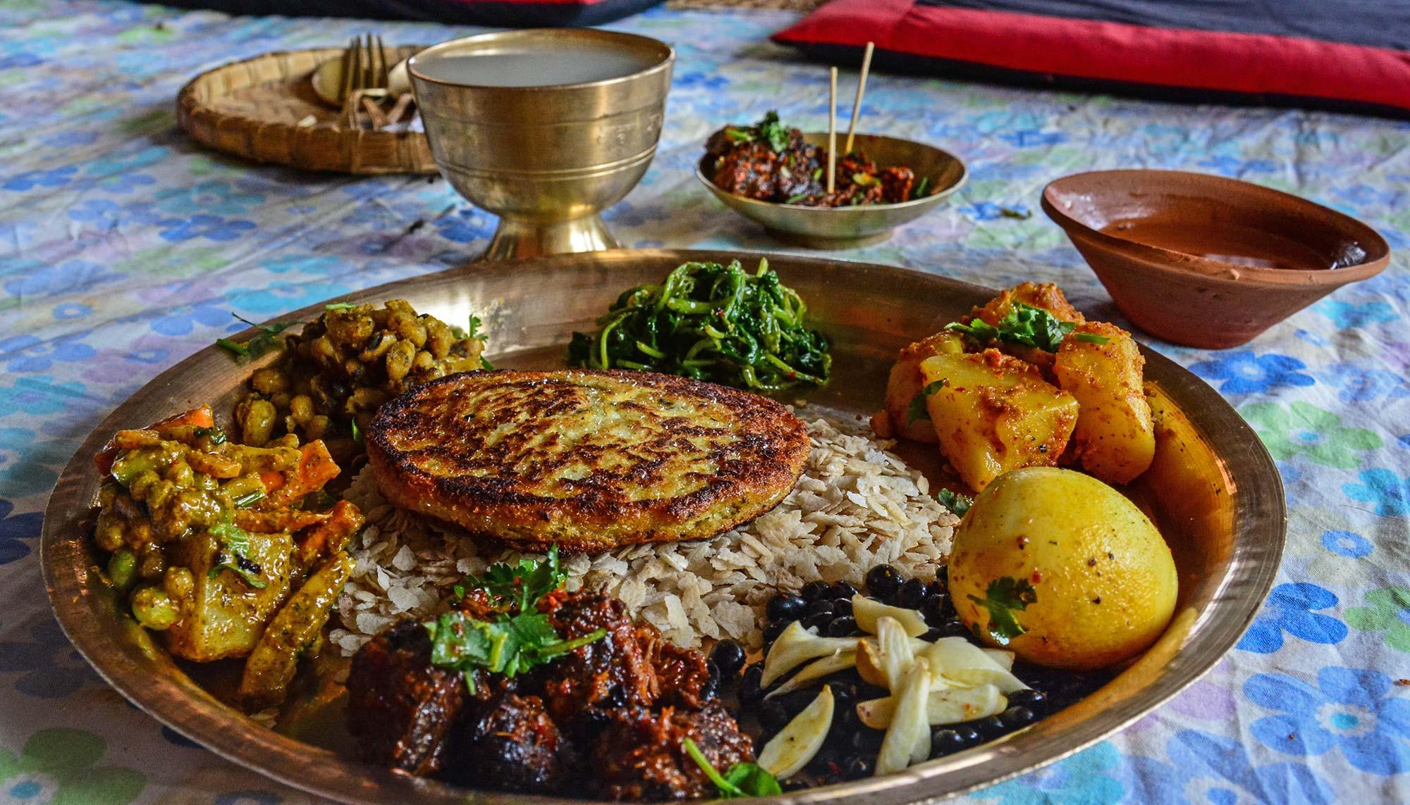 Newari Ethnic Food
