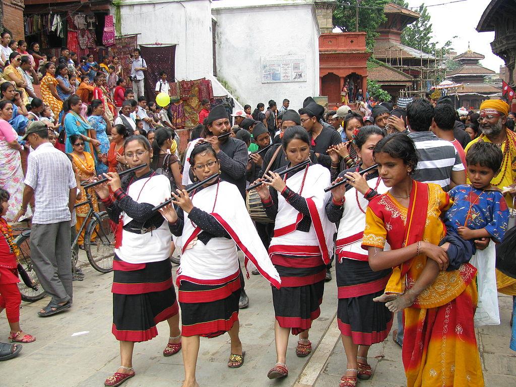 Gai Jatra cow festival in Nepal