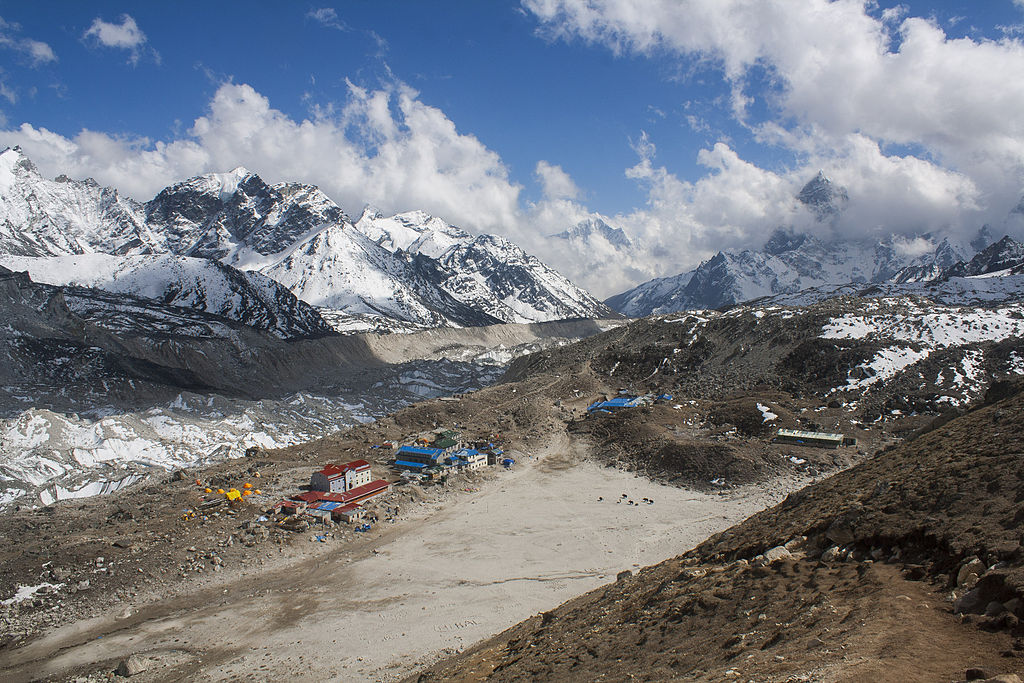 View of Gorakshep from Kala Patthar