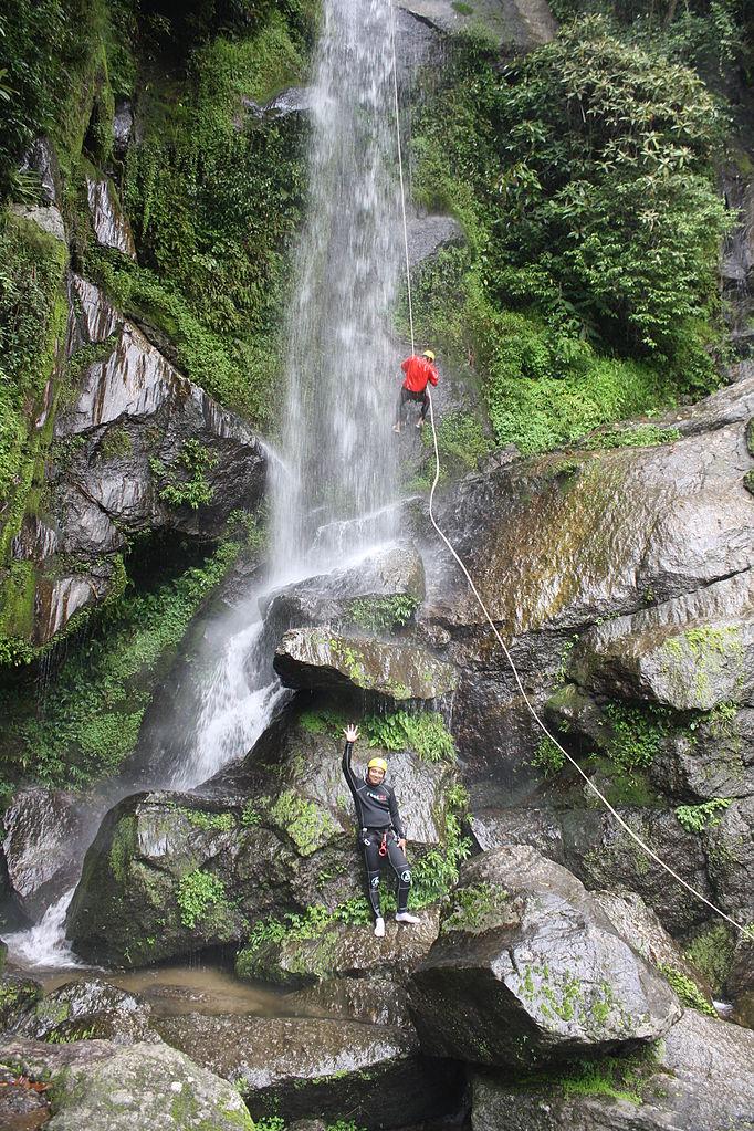 Sundarijal-canyoning